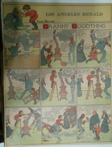 Granny Goodthing Sunday Page by Follett  from 3/13/1910 Full Page Size!