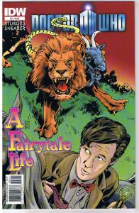 DOCTOR WHO FairyTale Life #3, NM, 2011, IDW, more DW in store