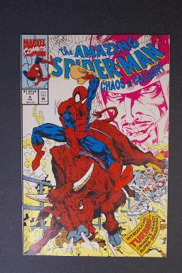 Amazing Spider-Man Chaos in Calgary Canada Special Feb 1993