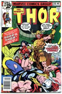 THOR #276, 279, 280, VF+, God of Thunder, Hyperion, 1966, more Thor in store, 3