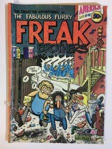 FREAK BROTHERS (THE FABULOUS FURRY) 1 GOOD (2nd  PRINT) COMICS BOOK