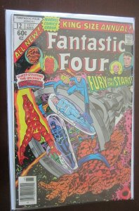 Fantastic Four #12 Newsstand Annual 4.0 VG (1977) Inhumans