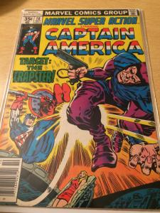 Marvel Super Action #10 featuring Captain America