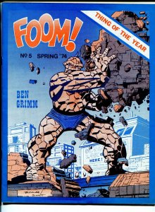 FOOM #51974-early Marvel Comics fanzine-Jack Kirby-Marvel's Greatest heroes-VF