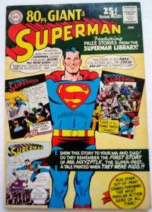 SUPERMAN #183 (NG) Silver Age DC