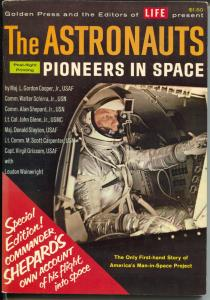 Astronauts Pioneers In Space 1961-Alan Shepard-space info-NASA -VF