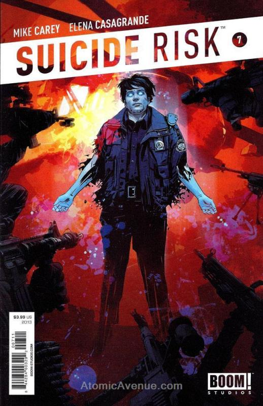 Suicide Risk #7 VF/NM; Boom! | combined shipping available - details inside