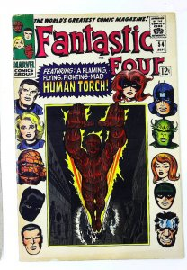Fantastic Four (1961 series) #54, VG+ (Actual scan)