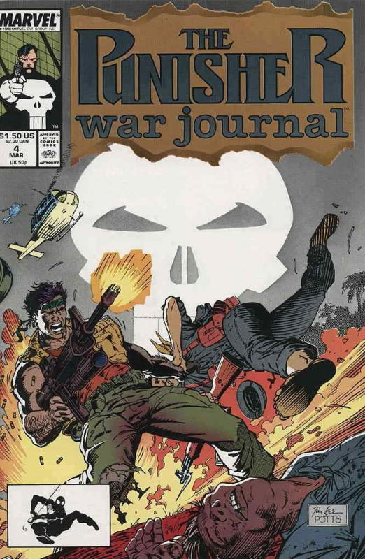 Punisher War Journal, The #4 VF/NM; Marvel | save on shipping - details inside