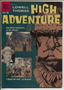 Lowell Thomas High Adventure-Four Color Comics #949 1958-Dell-headhunters-VG/FN