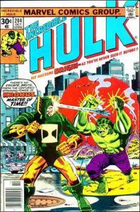 Marvel THE INCREDIBLE HULK (1968 Series) #204 VF