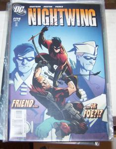 NIGHTWING  # 114  2006 DC COMICS deathstroke +dick grayson arsenol