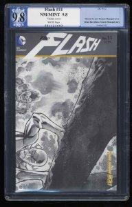 Flash (2011) #11 PGX NM/M 9.8 White Pages