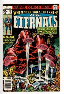 ETERNALS(KIRBY,1976) 10 VF 8.0