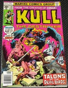 Kull the Destroyer #22 (1977)