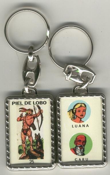 Llaveros comic español: Piel de Lobo