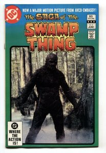 Saga of the SWAMP THING #2 Photo cover-1982-DC- NM-