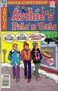 Archie Comics ARCHIE'S PALS 'N GALS #148 VG