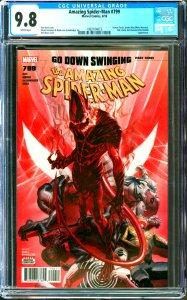 Amazing Spider-Man #799 CGC Graded 9.8 Human Torch, Spider-Man, Silk, Clash, ...