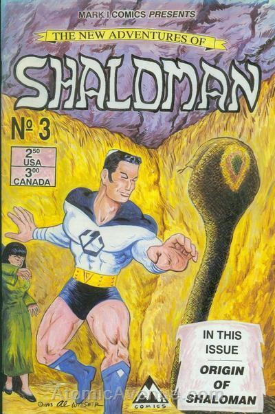 New Adventures of Shaloman #3 VF/NM; Mark 1 | save on shipping - details inside