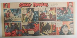 Casey Ruggles Sunday  by Warren Tufts from 7/23/1950 Third Page Size!