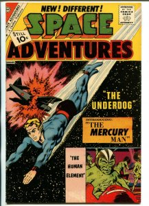 Space Adventures #44-1962-Charlton-introduces Mercury Man-VF+