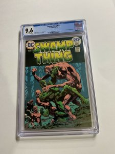Swamp Thing 10 Cgc 9.6 Ow/w Pages Dc Bronze Age 2042366016