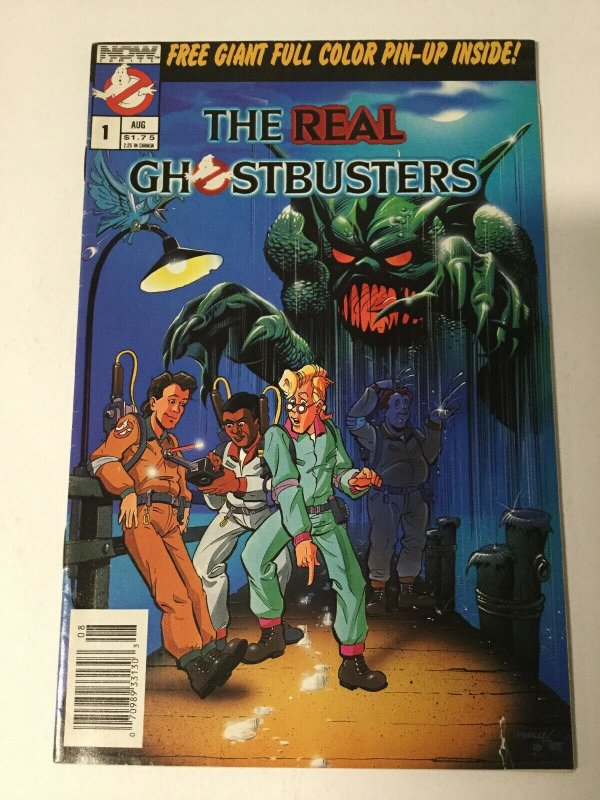 Real Ghost Busters 1 Vg Very Good 4.0 Now