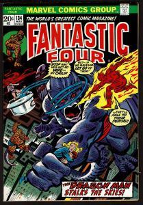 Fantastic Four #134 (May 1973, Marvel) 7.0 FN/VF