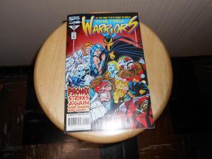 New Warriors (1990 1st Series) #53 Nov 1994 Cover price $1.50 Marvel