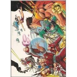1993 Valiant Era H.A.R.D. CORPS #1 - Card #113