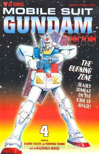 Mobile Suit Gundam 0079 #4 FN; Viz | save on shipping - details inside
