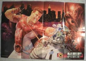 MAGNUS ROBOT FIGHTER Promo poster, 30x20, 1996, Unused, more Promos in store