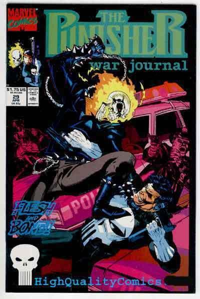 PUNISHER WAR JOURNAL #29, NM+, Ghost Rider, Mark Texeira, more Marvel in store