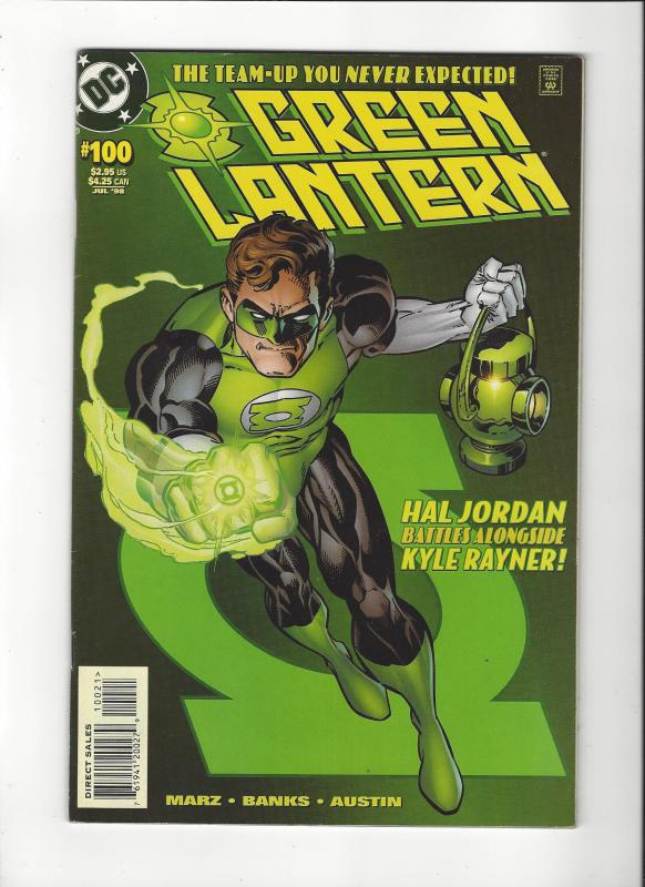 Green Lantern #100(1998) Kyle and Hal Team-up Double Cover VF/NM