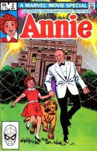 Annie #2, NM- (Stock photo)