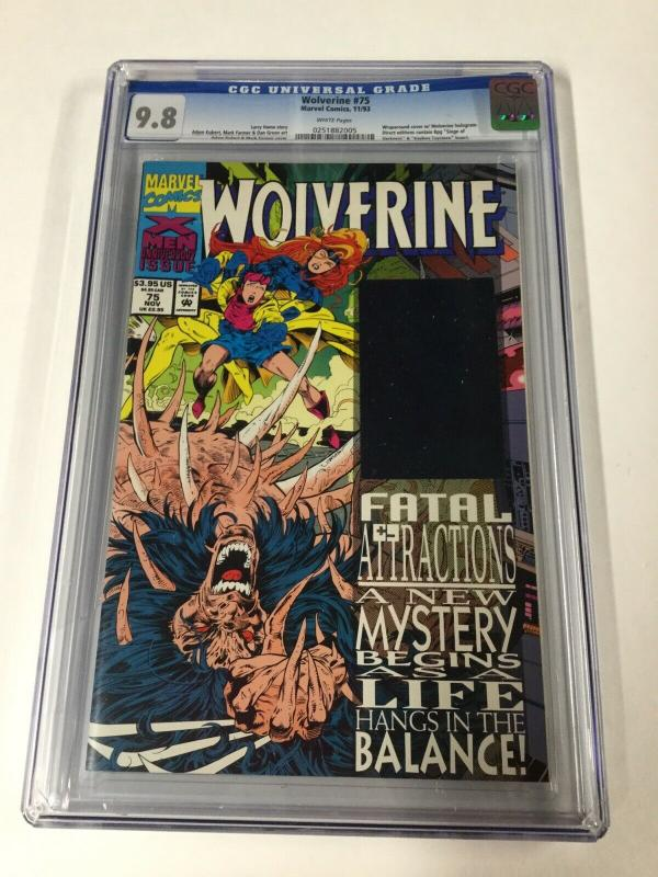 Wolverine 75 Cgc 9.8 White Pages 1988 Series