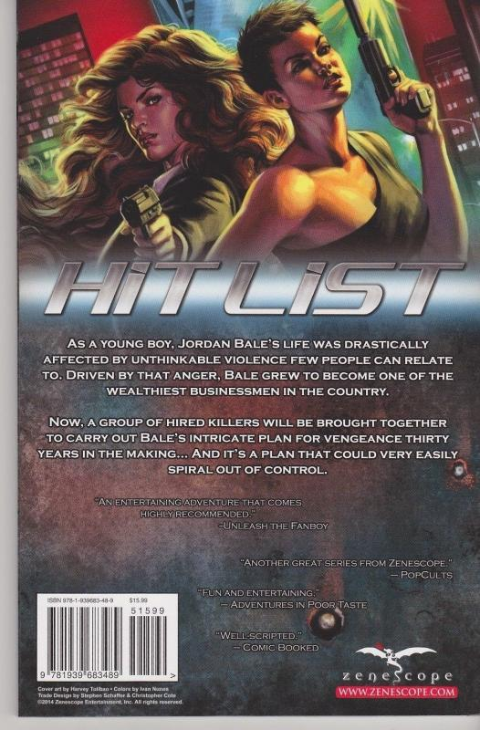 Hit List Trade Paperback TPB Grimm Fairy Tales GFT Zenescope