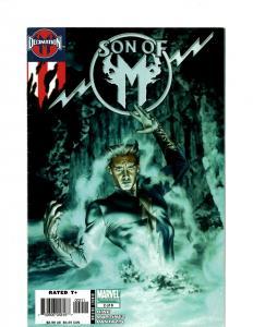 12 Comics Son of M 2 1 Generation M 1 4 3 5 The Avengers 10 12 +MORE J394