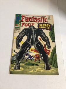 Fantastic Four 64 Vf Very Fine 8.0 Marvel Comics Silver Age