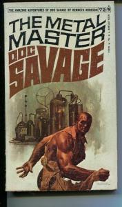 DOC SAVAGE-THE METAL MASTER-#72-ROBESON-VG-FRED PFEIFFER COVER-1ST EDITION VG