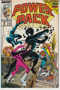 Power Pack(vol. 1) # 33  Spider Ma ! New Mutants !