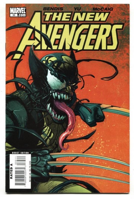New Avengers #35 1st Venomized cover- Wolverine VF/NM