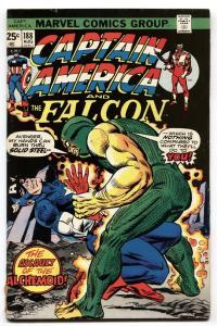 CAPTAIN AMERICA #188 1975-FALCON-ALCHEMIOD vg