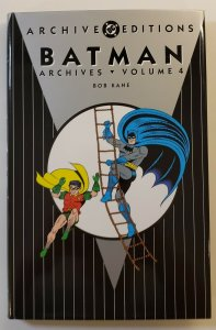 ARCHIVE EDITIONS BATMAN ARCHIVES VOL.4 HARD COVER FIRST PRINT DC COMICS