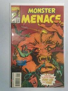 Monster Menace #1 8.0 VF (1993)