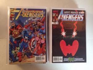 Avengers 1-40 Missing # 6 29 34-40 Near Mint Lot Set Run 3rd Series