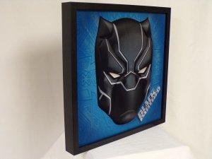Black Panther Avengers Framed 14x14 3D Wall Art