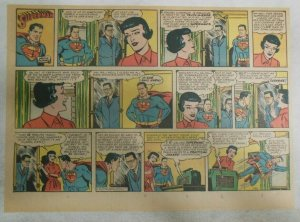 Superman Sunday Page #1152 by Wayne Boring from 11/12/1961 Size ~11 x 15 inches