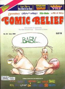 Comic Relief (magazine) #53 FN; Page One | save on shipping - details inside